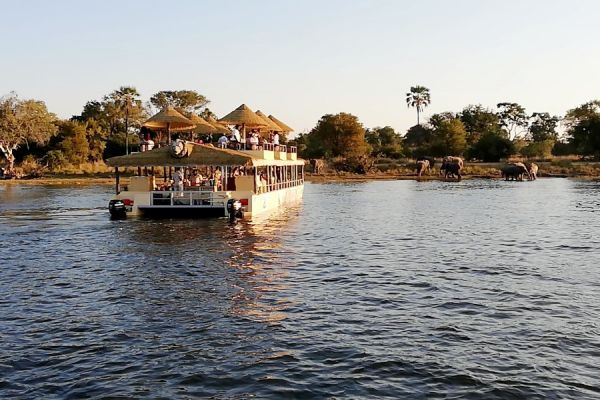 The Victoria Falls Sunset Cruise